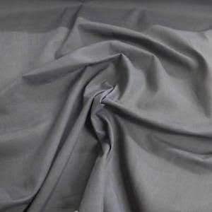Dark Grey - Cotton Poplin / Bahan Kain Katun Sprei dan Kemeja