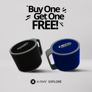 X-Mini Explore portable bluetooth speaker