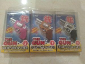 Gantungan Kunci Pistol