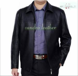 jaket kulit domba asli model elegan