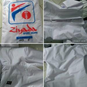 baju karate gi kata seragam pakaian kejuaraan Ziyada tegi