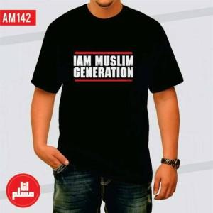 Kaos / T-Shirt I am Muslim Generation (Design