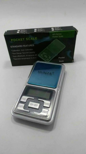 Pocket Scale MH-Series HUNZA. Timbangan emas digital. MH-200