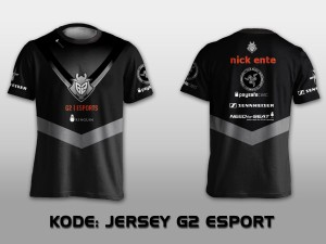 JERSEY / KAOS TEAM GAMING G2 ESPORTS