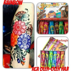 Golecha Henna Cone RAINBOW RANGEELA
