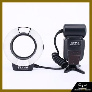TR-15EX-C Flash Triopo (Ring Flash Canon E-TTL)