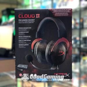 HyperX Cloud 2 Black Red Gaming Headset