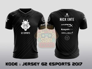 JERSEY / KAOS TEAM GAMING G2 ESPORTS 2017