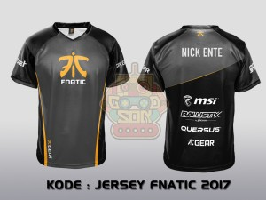 JERSEY / KAOS TEAM GAMING FNATIC 2017