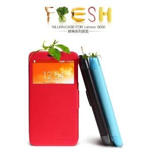Nillkin Flip Case (Fresh Leather Case) - Lenovo S650