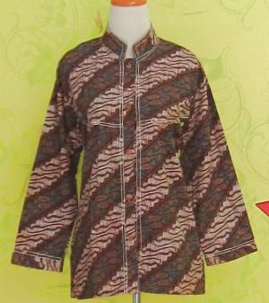 Blouse Batik PARANG BIRU
