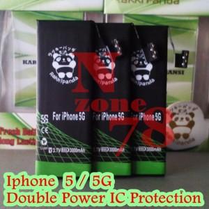 Baterai Iphone 5 Iphone 5G Rakkipanda Double Power Protection
