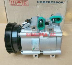 compresor. compresor kompresor ac mobil hyundai trajet merk : hcc asli (new/baru) i
