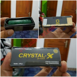 Crystal-X Asli NASA