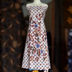Batik Tulis Kain Buketan bunga Premium PR126