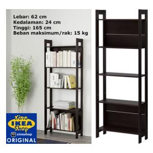 ... Pemegang Kasus Rumah Source · IKEA LAIVA Rak Buku Hitam Cokelat 62x165 cm