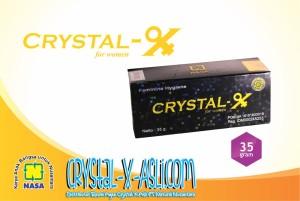 Crystal X Asli NASA - Crystal X Asli Untuk Organ Kewanitaan Anda