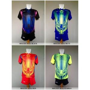 Setelan Voli / Volley Molten MT01 (Baju Kaos Celana)