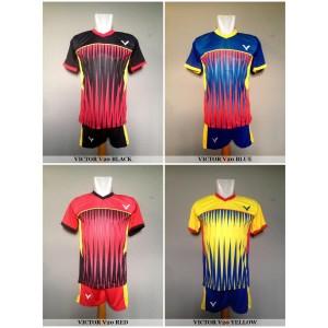Setelan Badminton / Bulutangkis Victor V20 (Baju Kaos Celana)