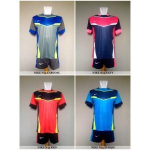 Setelan Futsal / Sepakbola Nike N15 (Baju Kaos Celana)