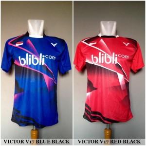 Baju Kaos Badminton / Bulutangkis Victor V17