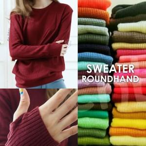 Sweater Rajut Roundhand Grosir