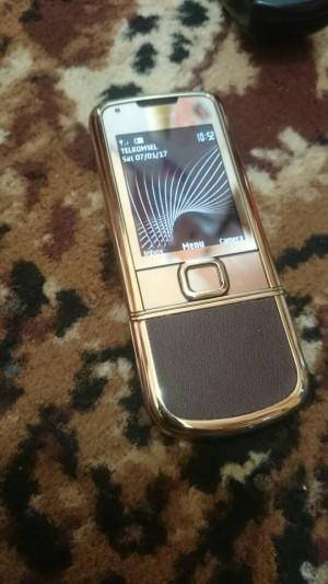 Nokia 8800 Arte Gold Leather Brown