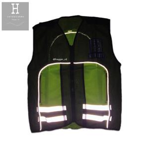 rompi satpam / security glow in the dark / nyala