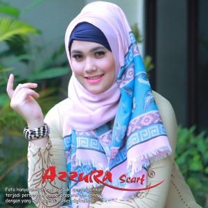 kerudung terbaru trendy wanita cantik pasmina TORAJA by azzura scarf
