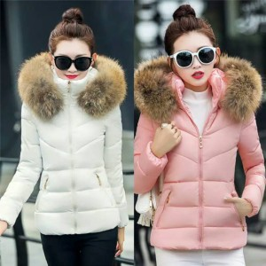 Sweet Winter Warm Jacket Women Jaket Hangat Musim Dingin Wanita Import