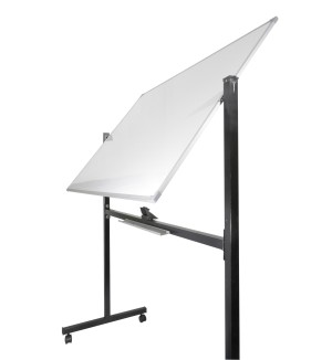 White Board Double Face Stand 90x120cm
