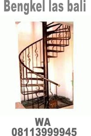 tangga putar bali