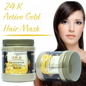 ... Aromatic Moisturizing & Dandruff Removing; Page - 2. MASKER RAMBUT GOLD 24K LIYANSHIJIA GOLD HAIR MASK
