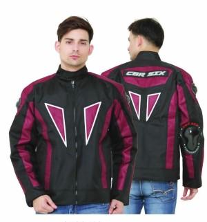 jaket touring jaket motor tebal cbr six murah plus protector