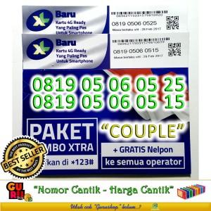Perdana XL Nomor Cantik XL Couple 000 0819 050609 05 06 08 25 .