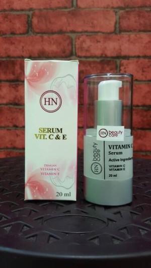 Serum Vit C & E HN beautycare   HN serum vit C dan E