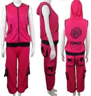 Setelan Wanita Olahraga / Baju Senam Wanita / FRD3030217-Pnk, Allsize