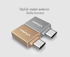 Vivan VOC-C01 USB 3.0 to Type-C Metal OTG Adapter - VIVAN