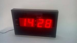 Jam Dinding D99 LED Merah (M Size / Paling Kecil)