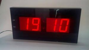 Jam Dinding D100 LED Merah (XL Size / Paling Besar)