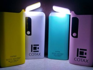 """Power Bank 12,000mAh """"Kuning"""" Real Capacity Made In Indonesia """"Cotax"""""""
