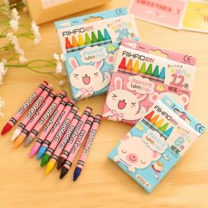 Crayon Warna Warni Animals Lucu 24 Pcs