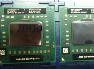 AMD A10-5750M Processor Prosesor laptop notebook FS1r2 A8-4500M 4400M