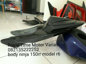 Body Belakang Ala R6 Untuk Ninja RR
