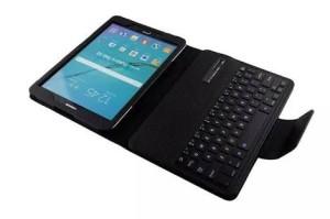 """Flip Case Bluetooth Keyboard Cover Premium Samsung Galaxy Tab S2 9.7"""""""