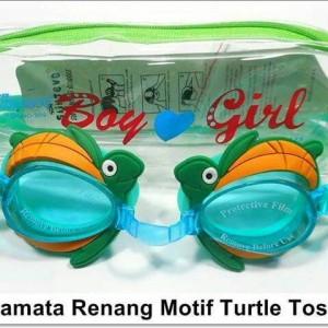 Kacamata Renang Motif Turtle Tosca merek Sainteve