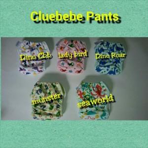Cluebebe Pant Motif Insert Microfiber