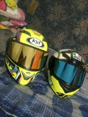 kaca helm nhk terminator ( flat visor custom ) not kyt ink agv shoei