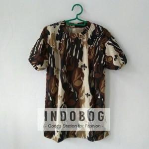 Kaos Loreng Pendek Pramuka Lapangan - indobdg