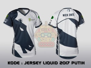 JERSEY / KAOS TEAM GAMING TEAM LIQUID 2017 PUTIH